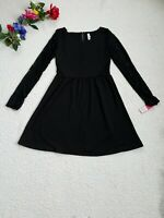 Xhilaration Dress Women's Medium Black Lace New