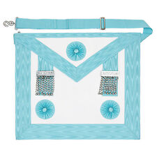 Craft Masonic Mm Master Masons Apron With Pocket Regalia Mm 3rd Degree
