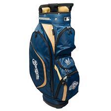 New Team Golf MLB NY Milwaukee Brewers Clubhouse Golf Cart Bag