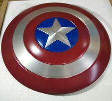 Captain America Metal Shield 1/1 FULL Metal Prop Replica with Stand