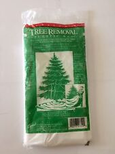 Vintage Tree Removal Plastic Bag Christmas New