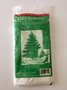 Vintage Tree Removal Plastic Bag Christmas New