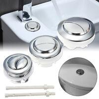 WC Chasse d'eau Toilette Eau Réservoir Bouton Poussoir 2 Rods Pr 38/48/58mm Trou