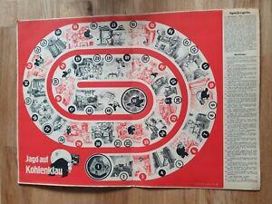 Spiel 1940 Jagd auf Kohlenklau mit Spielregeln und Spielfolge