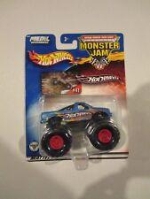 Monster Jam HOT WHEELS 4x4 TRUCK Blue 2002 B1294 w Free ship!