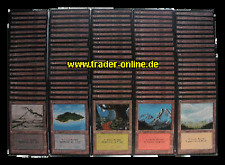 LAND PACK 100 original Magic Länder Karten Sammlung englisch / english Lot
