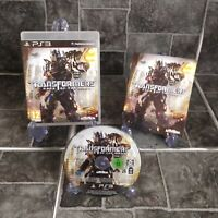 TRANSFORMERS DARK OF THE MOON ORIGINAL PLAYSTATION PS3 - PAL COMPLETE