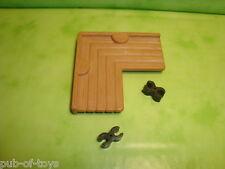 Playmobil: Pièce pour fort playmobil western 3419 plancher