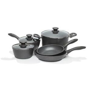 Stanley Rogers Quartz Stone Advanced 5-Piece Cookware Set