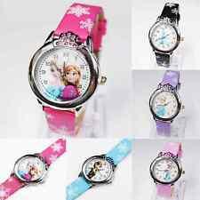Children Kids Girls Cartoon Gifts Analog Quartz Wist Watch Wristwatches Watches