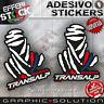 Adesivi / Stickers DAKAR PARIS HONDA TRANSALP 750 XL 700 V HRC 2.PZ H.QUALITY!