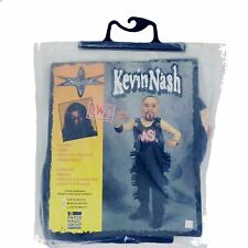 Rare Wcw Wrestling Kevin Nash Childs M Costume Mask Shirt Vest Pants Wwf Wwe New