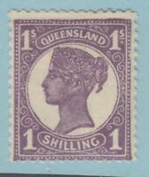 QUEENSLAND 121 MINT HINGED OG *  NO FAULTS VERY FINE !