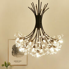 Modern Dandelion LED Crystal Chandelier Pendant Lamp Dining room Ceiling Light