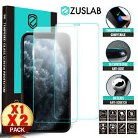 iPhone 11 Pro Max ZUSLAB 9H Full Tempered Glass Screen Protector for Apple