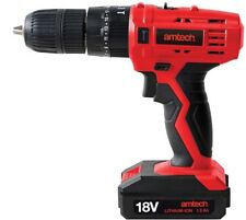 18V LI-ION Cordless Combi Drill V6515 - Amtech