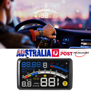 Head Up Display HUD F4 Auto Car for Driver's Safety Warning System speedometer