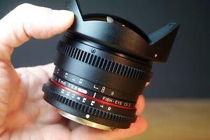 Walimex pro f3.8 8mm Fish-Eye UMC CS II, Sony A-Mount