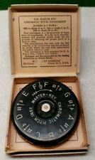 Wm. Kratt Co A-440 The Master Key Chromatic Pitch Instrument 13 Keys Mk-1 F-F