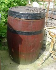 Large Traditional English Oak Barrel Fitted with tap for use as Water Butt