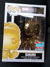 GOLD CHROME SHURI Funko Pop Marvel #392 2018 NYCC Gamestop Exclusive