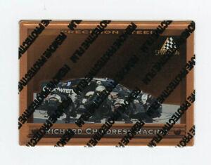 Dale Earnhardt Sr 1997 Pinnacle Precision Steel Bronze Parallel Insert Card #13