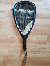 "New listing HEAD Liquidmetal 190 Mega Blast Racquetball Racquet 3 5/8"" Grip Size With Case"