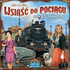 Ticket To Ride Polonia: Mapa Colección 6.5 ( Pulir/Inglés Reglas Incluido)