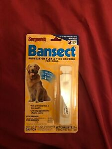 Sergeants Bansect Squeeze-on Flea/Tick Control For Dogs Over 33lb 2pk