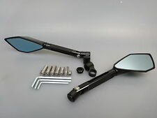 Kawasaki Z750 Z1000 CNC Alu Spiegel Lenkerspiegel schwarz Mirror 2003- V