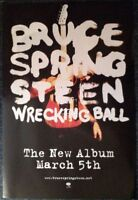 Bruce Springsteen - Wrecking Ball  (EX-SHOP Promotional Poster)