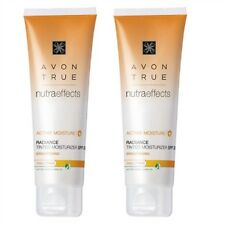 2 X Avon Nutraeffects Radiance Tinted Moisturiser Nutra Effects Spf20