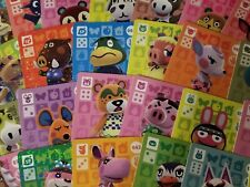 Animal Crossing Amiibo Cards Series 1 - Choose your Villager ! (Authentic)