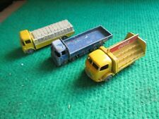 3 X MATCHBOX LESNEY TRUCKS LOT B13