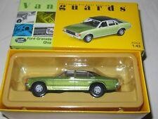 Corgi Vanguards - FORD GRANADA GHIA - ONYX GREEN METALLIC VA05202 Mint/Boxed