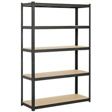 Heavy Duty Metal Garage Shelving Unit Shed Storage Shelves Boltless Shelf Rack