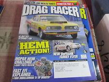 Drag Racer vintage magazine July 2007