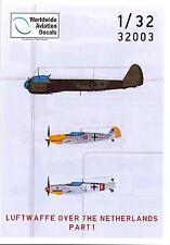 Flevo Aviation Decals 1/32 THE LUFTWAFFE OVER THE NETHERLANDS Part 1