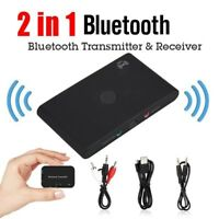 NFC Wireless Bluetooth Adapter Audio 2 in 1 Receiver Transmitter 3.5mm Jack AUX