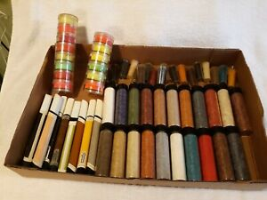 Vintage Fly Tying Material Paint Pens hackle Various Colors