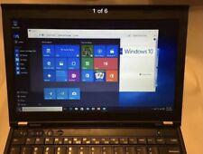 Lenovo Thinkpad X230 i5 1TB HDD 256GB SSD 8GB RAM Windows 10 Webcam Bluetooth