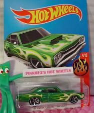 Case B 2016 Hot Wheels '69 DODGE CORONET SUPERBEE #94 ✰Green; mc5✰HW Flames