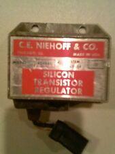C.E NIEHOFF & CO. Silicon Transistor Regulator # AL-165C System Voltage 12