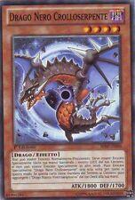 3x Drago Nero Crolloserpente YU-GI-OH! SHSP-IT096 Ita COMMON 1 Ed.