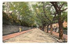 Meads Road - Eastbourne Photo Postcard 1913
