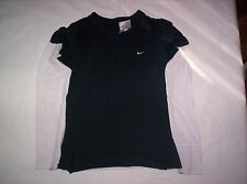 Boy's black with white sleeves shirt sz S