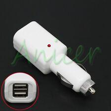 Dual USB 2-Port Auto Car Charger Adapter For Cellphone Pad iPhone Samsung