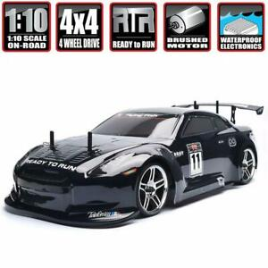 HSP RC Car 4wd 1:10 On Road Racing Two Speed Drift Vehicle Toys 4x4 Nitro Gas a2