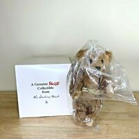 "NEW Steiff 12"" Teddy Bear Limited Edition 1902-2002 Growler Tags Button Danbury"