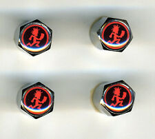 Insane Clown Posse 4 Chrome Plated Brass Tire Valve Caps Car/Bike/Golf Cart